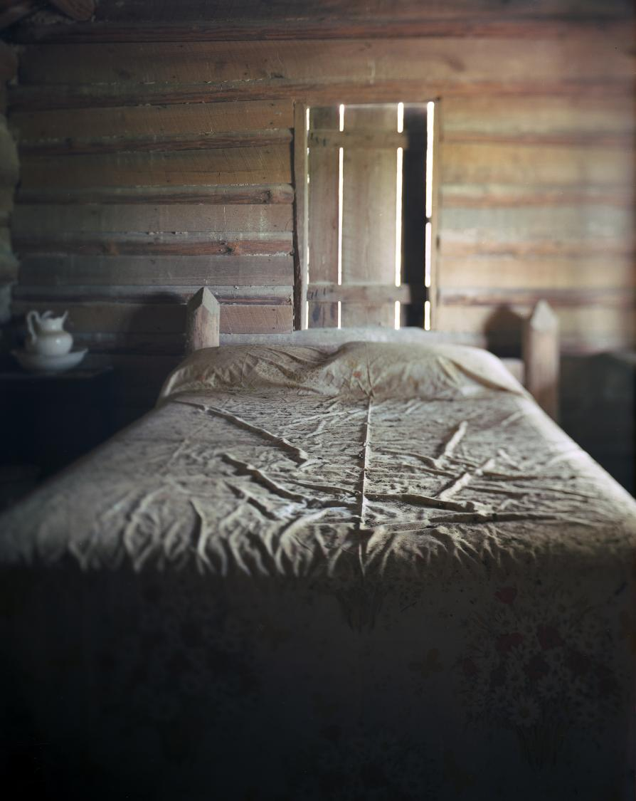 Mr. Davis' Replica Bed, Walthourville GA